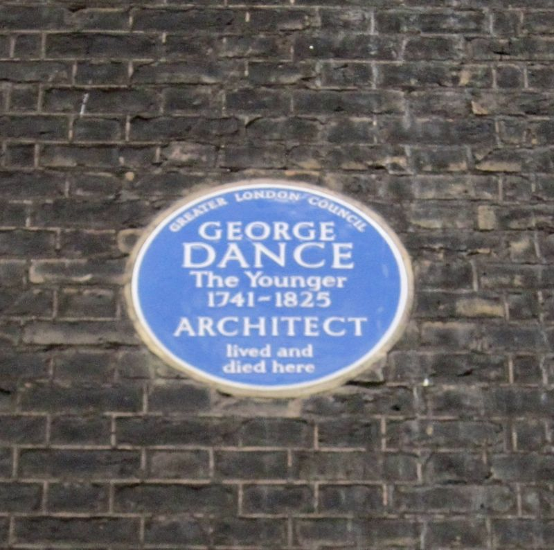 George Dance (The Younger) Marker image. Click for full size.