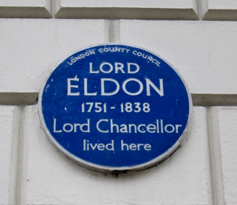 Lord Eldon Marker image. Click for full size.