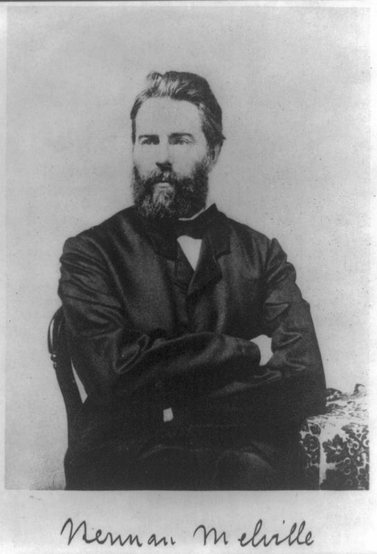 Herman Melville image. Click for full size.