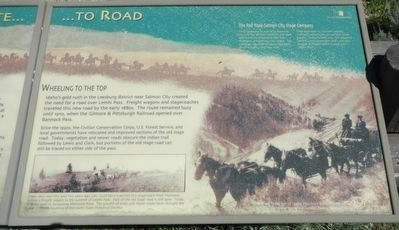 From Route ... To Road Marker image. Click for full size.