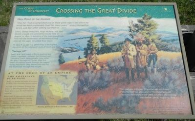Crossing the Great Divide Marker image. Click for full size.
