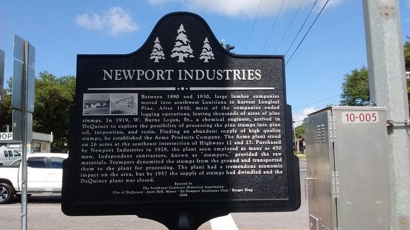 Newport Industries Marker image. Click for full size.
