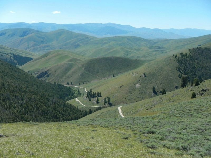 Looking west from Lemhi Pass image. Click for full size.