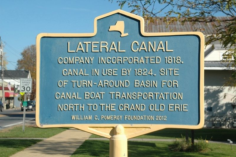 Lateral Canal Marker image. Click for full size.