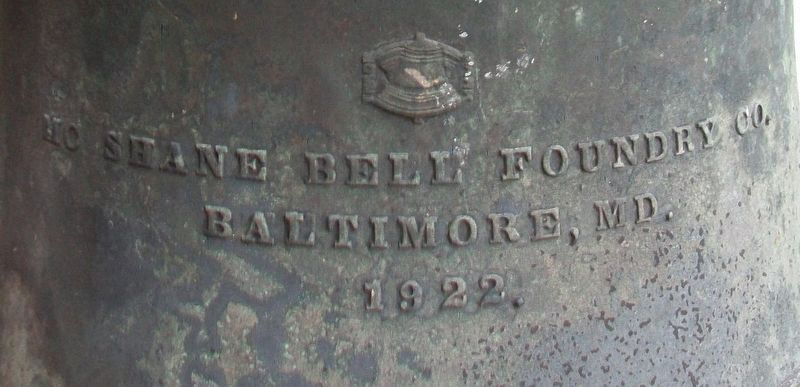 Liberty Trust Company Bell Foundry Mark image. Click for full size.