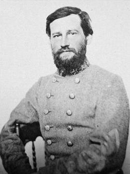 Confederate General Stephen D. Lee image. Click for full size.