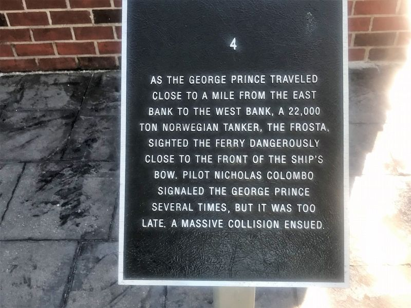George Prince Ferry Memorial Marker image. Click for full size.