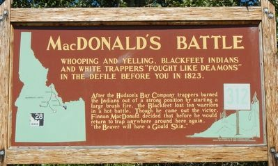 MacDonald's Battle Marker image. Click for full size.