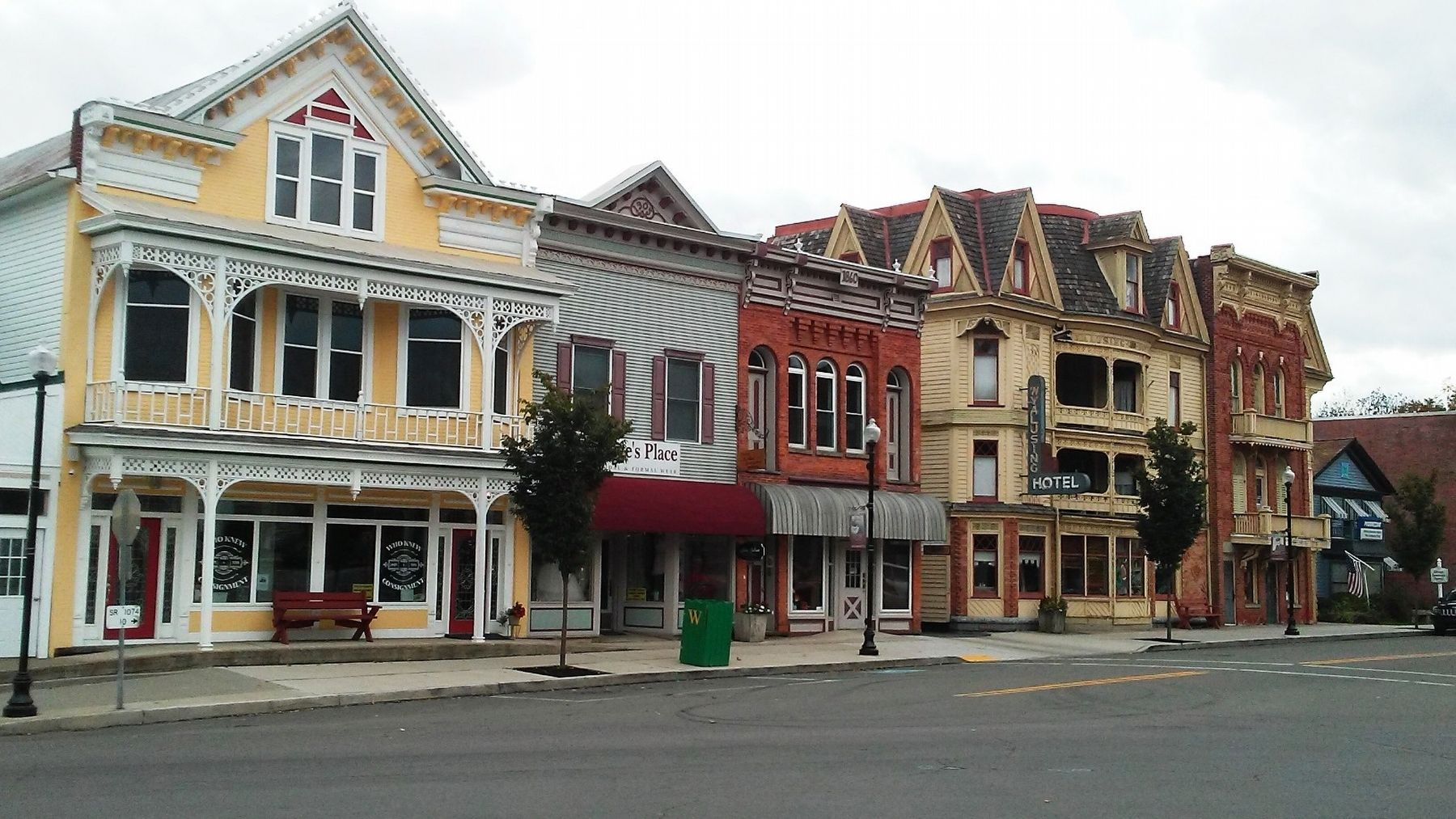 Wyalusing Borough Historic District Structures image. Click for full size.