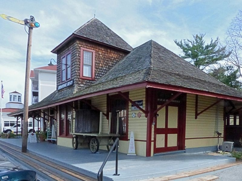 Chesapeake Beach Railway Station image. Click for full size.