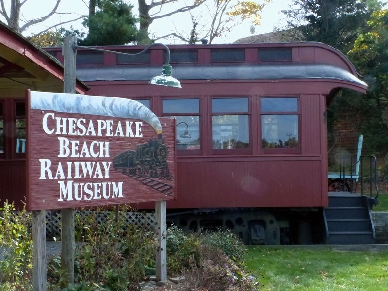 Chesapeake Beach Railway Museum image. Click for full size.