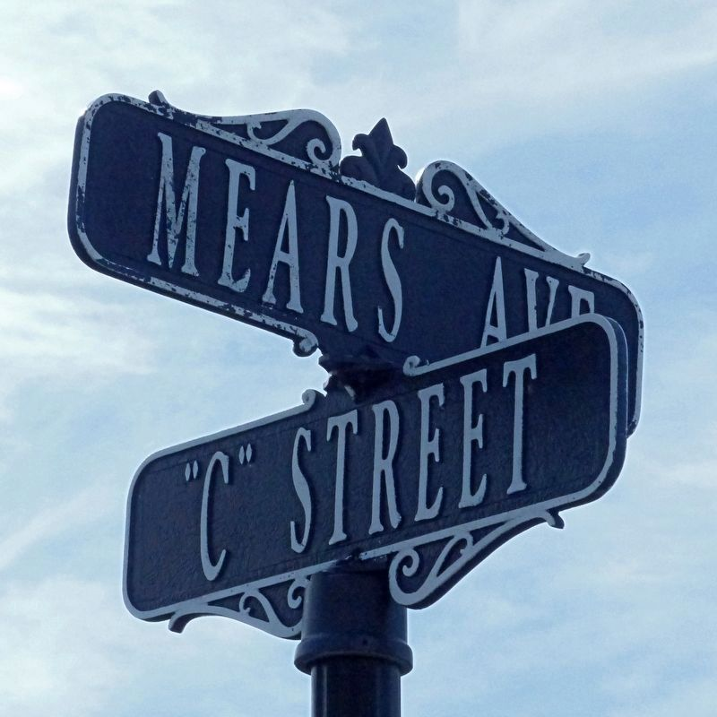 "Mears Avenue & ""C"" Street image. Click for full size."