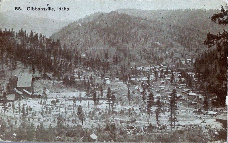 Gibbonsville, Idaho image. Click for full size.