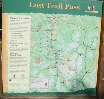 Lost Trail Pass panel image. Click for full size.