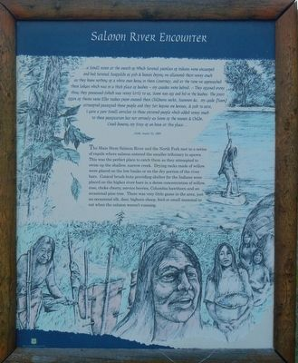 Salmon River Encounter Panel image. Click for full size.