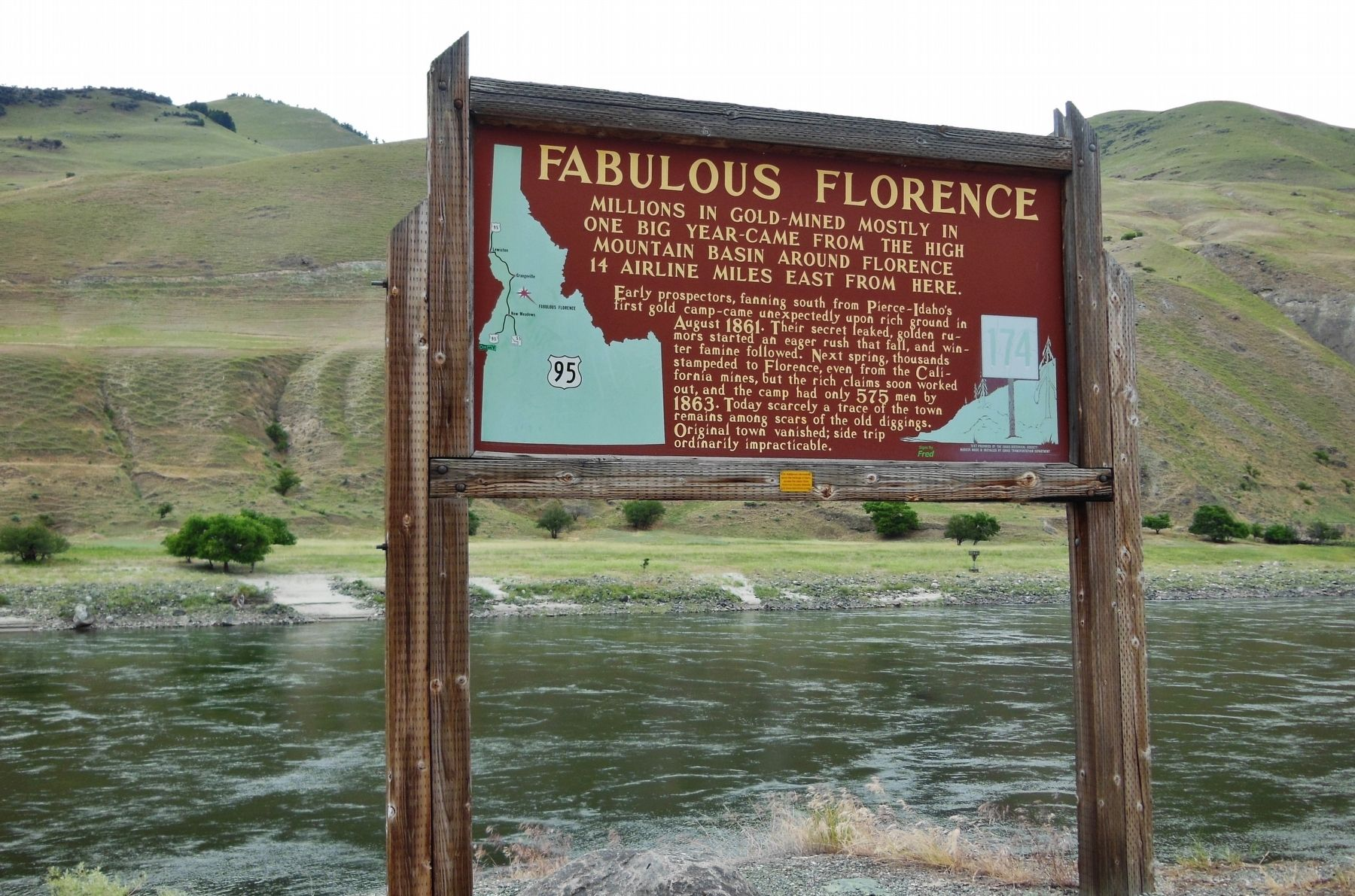Fabulous Florence Marker (<i>wide view</i>) image. Click for full size.
