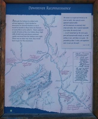 Downriver Reconnaissance Marker, right image. Click for full size.