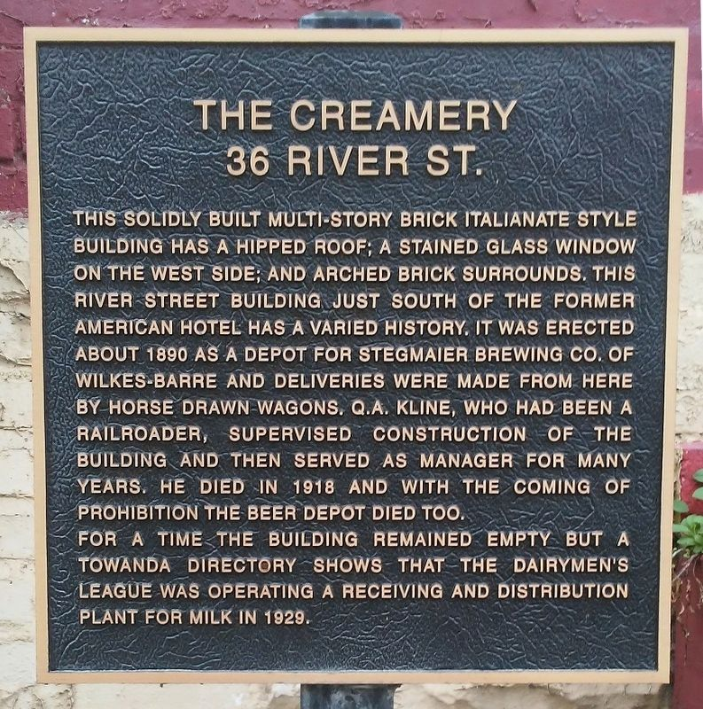 The Creamery Marker image. Click for full size.