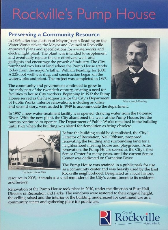 Preserving a Community Resource Marker image. Click for full size.