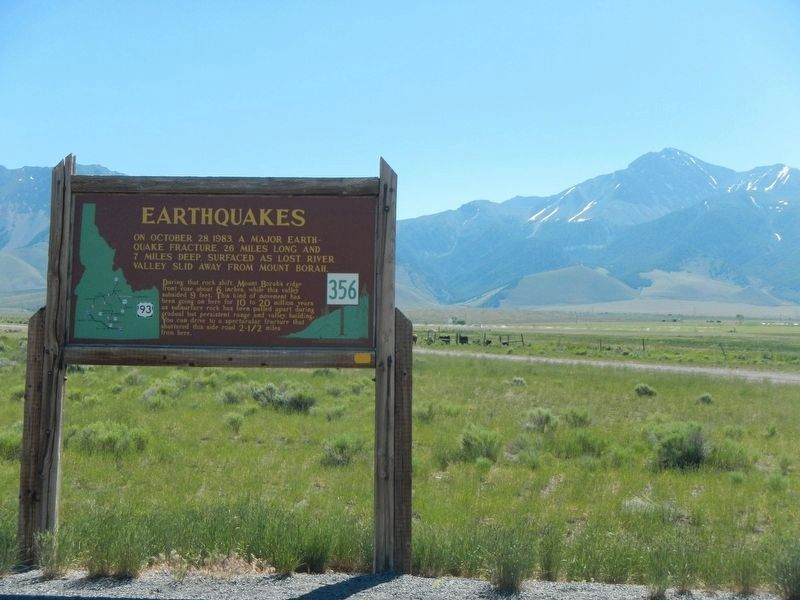 Earthquakes Marker image. Click for full size.
