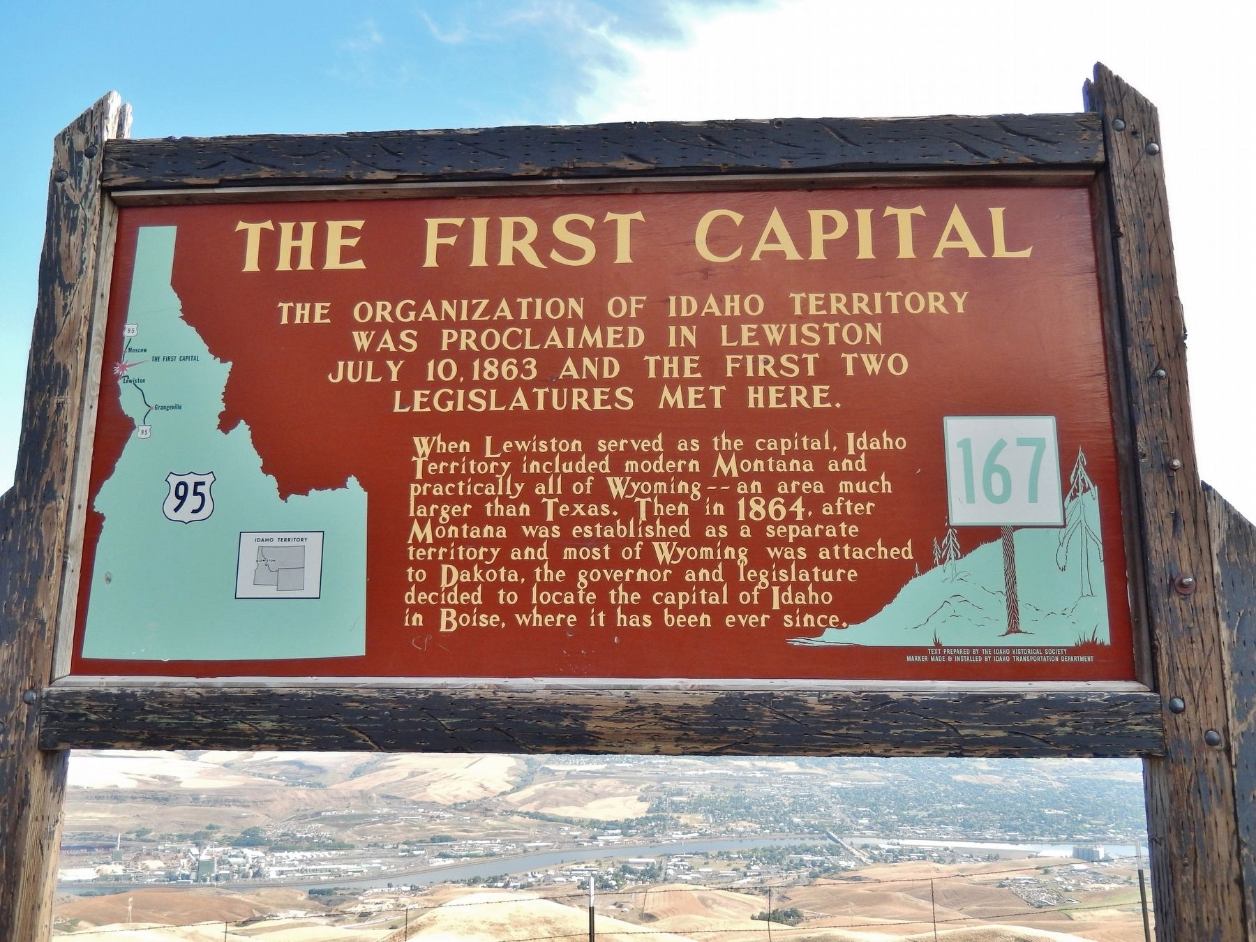The First Capital Marker image. Click for full size.