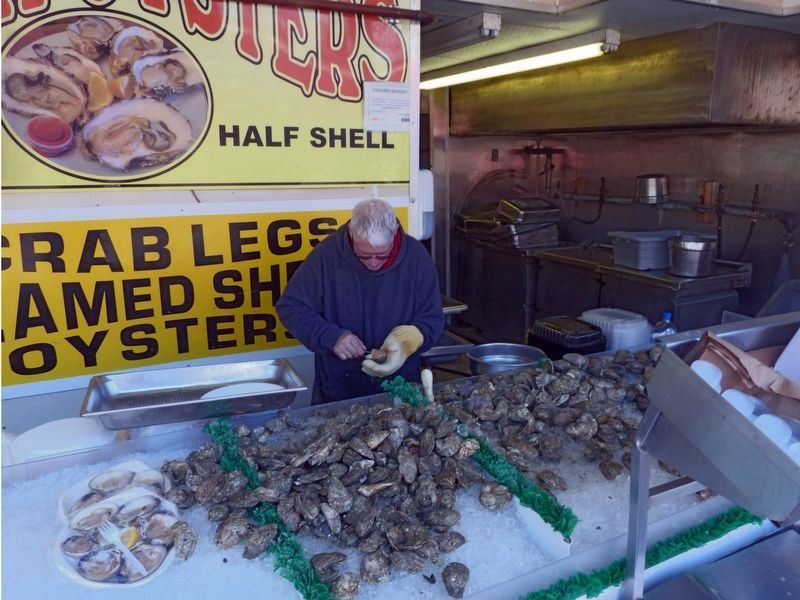 Shucking Clams image. Click for full size.