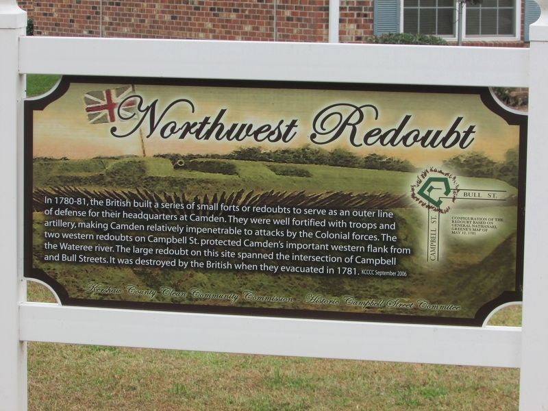 Northwest Redoubt Marker image. Click for full size.
