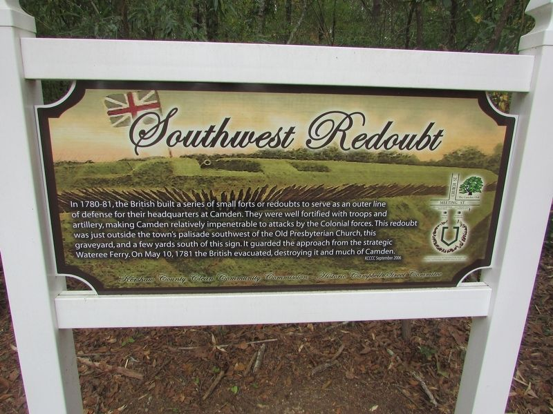 Southwest Redoubt Marker image. Click for full size.