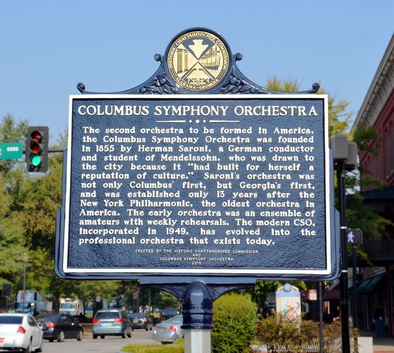 Columbus Symphony Orchestra Marker image. Click for full size.