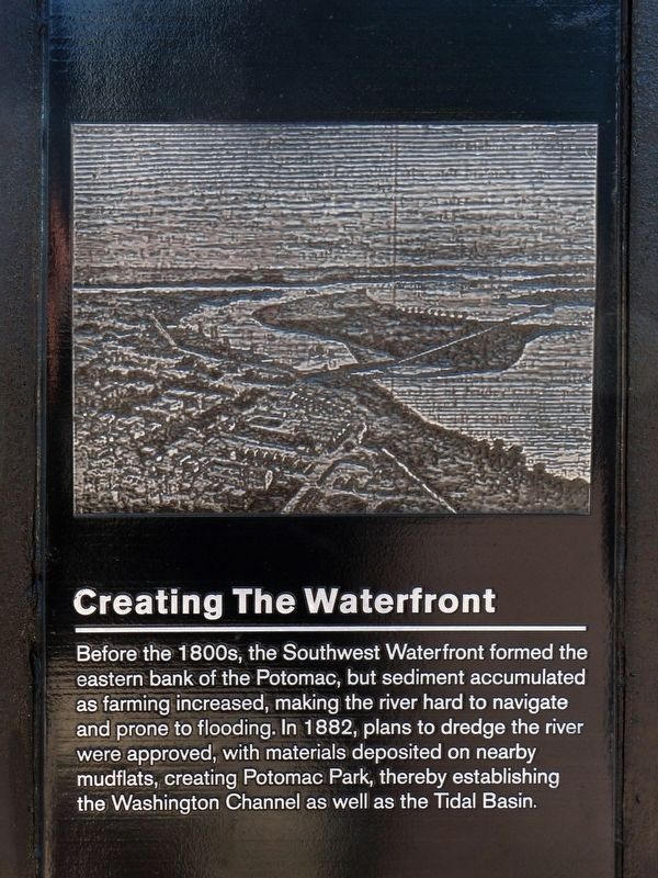 Creating the Waterfront Marker image. Click for full size.