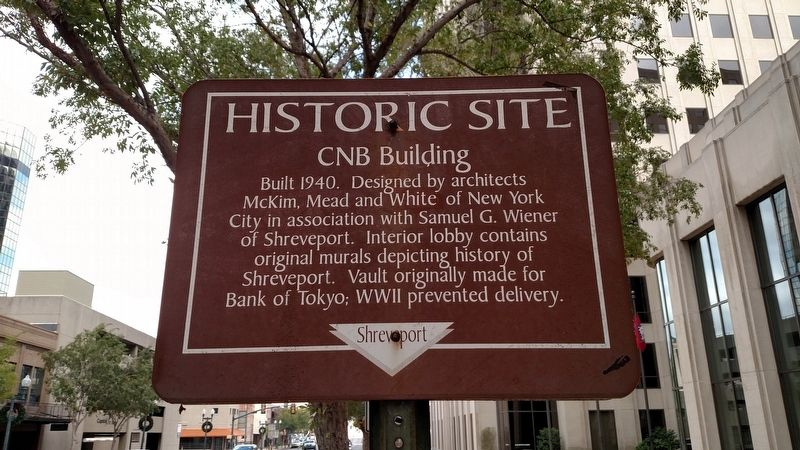 CNB Building Marker image. Click for full size.