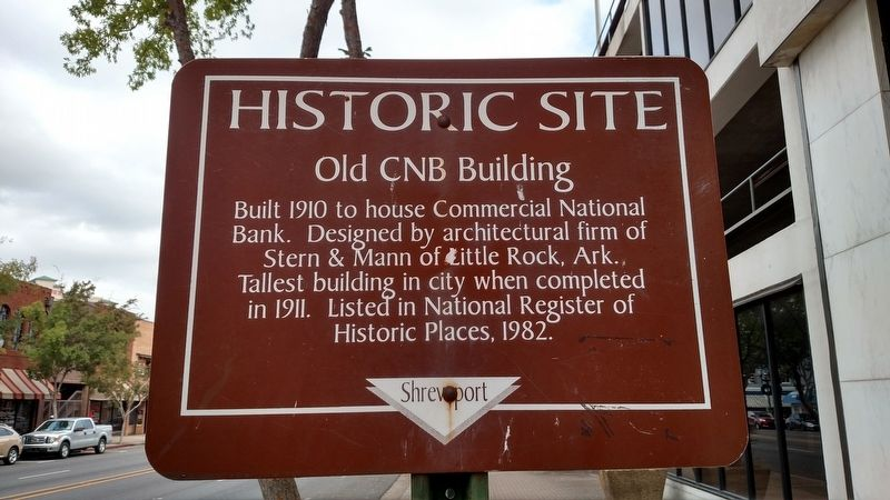 Old CNB Building Marker image. Click for full size.