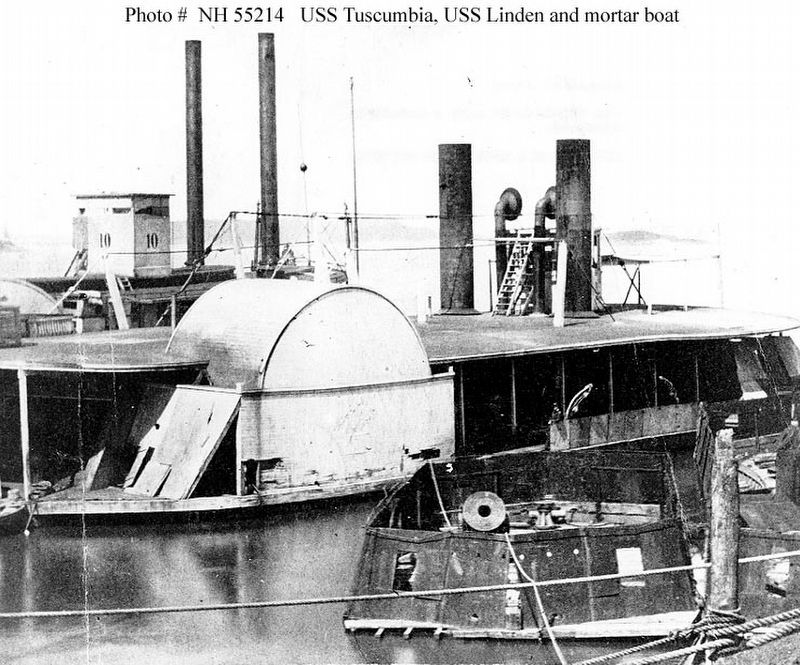 USS Tuscumbia (1863-1865) image. Click for full size.