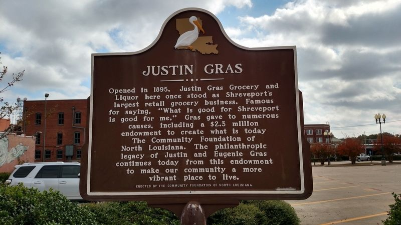 Justin Gras Marker image. Click for full size.