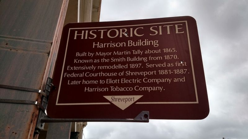 Harrison Building Marker image. Click for full size.