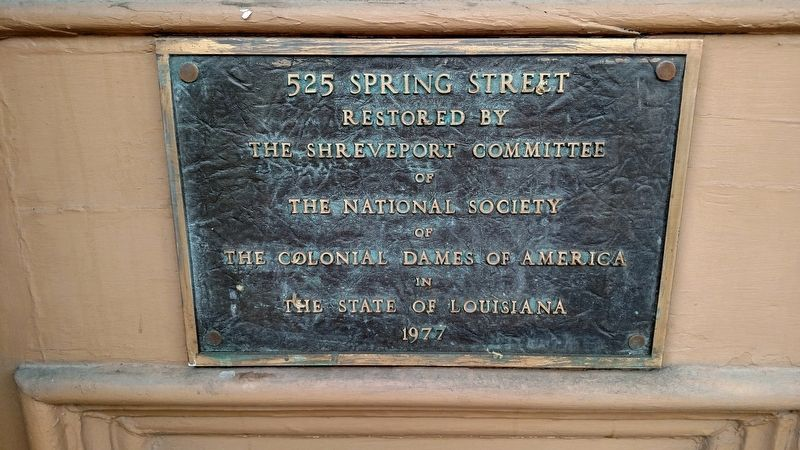 525 Spring Street Marker image. Click for full size.