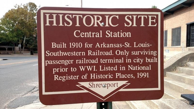 Central Station Marker image. Click for full size.