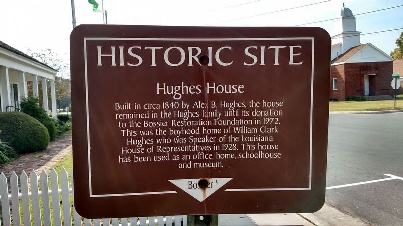 Hughes House Marker image. Click for full size.