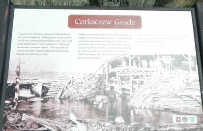 Corkscrew Grade Marker image. Click for full size.