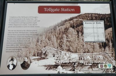 Tollgate Station Marker image. Click for full size.