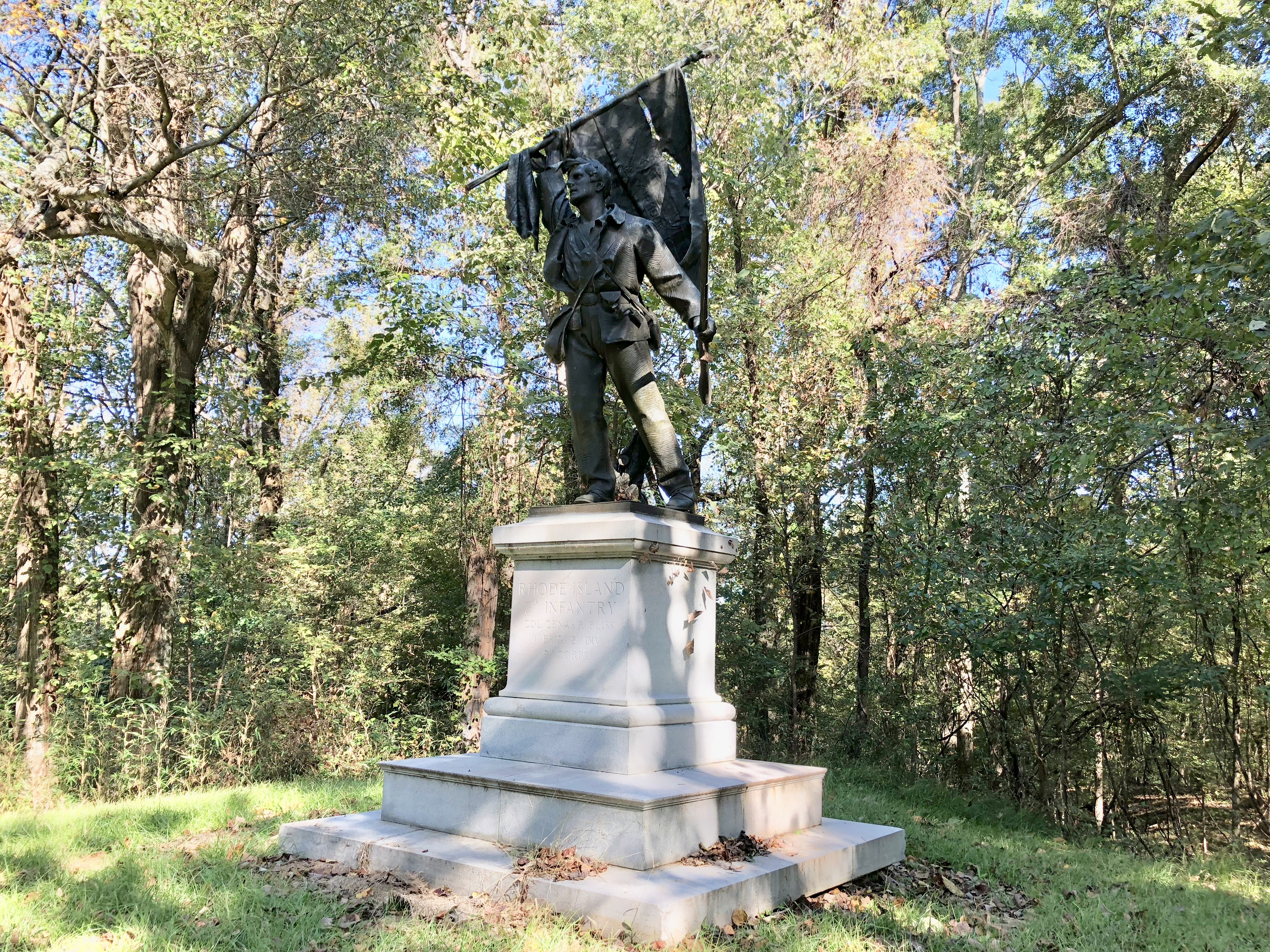 Rhode Island 7th Infantry Statue