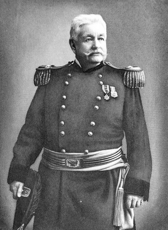 Union Major General Zenas R. Bliss image. Click for full size.