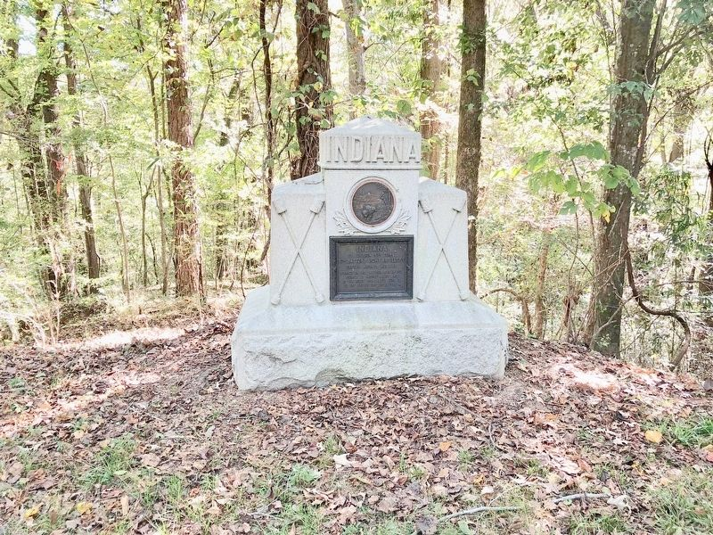 Indiana 6th Battery Light Artillery Monument image. Click for full size.