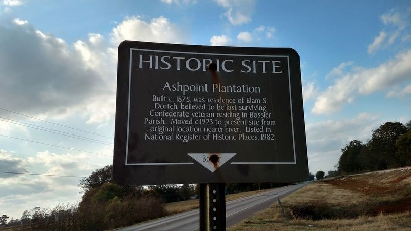 Ashpoint Plantation Marker image. Click for full size.