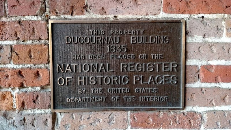 Ducournau Building Marker image. Click for full size.