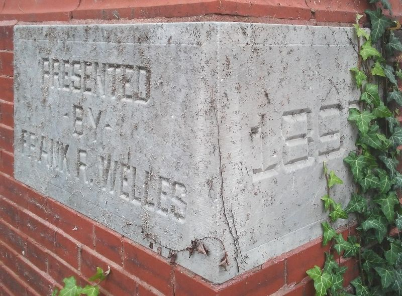 Towanda Public Library Cornerstone image. Click for full size.