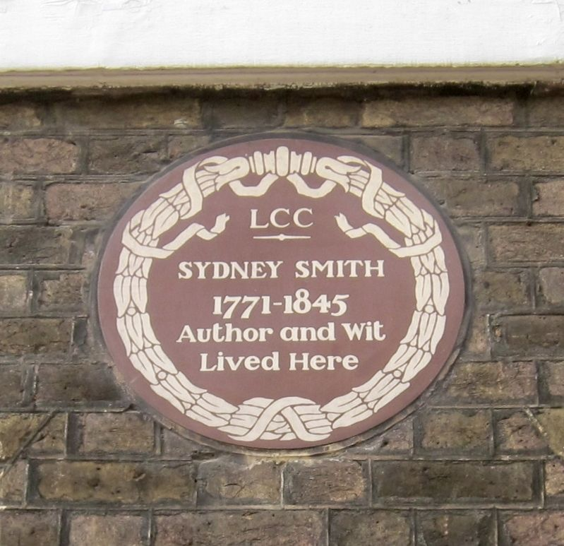 Sydney Smith Marker image. Click for full size.