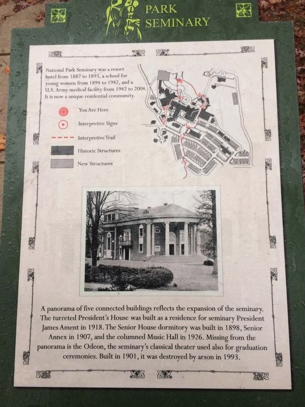 The Expansion of the Seminary Marker image. Click for full size.