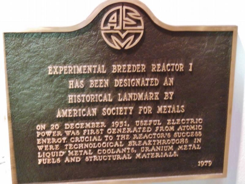 American Society For Metals Historical Landmark image. Click for full size.