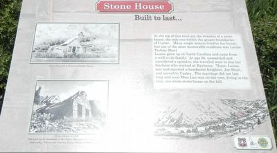 Stone House Marker image. Click for full size.